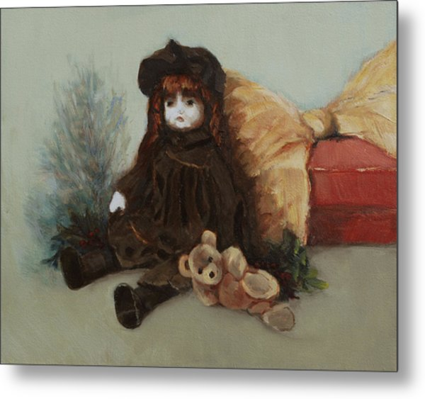 Mother's Doll Metal Print
