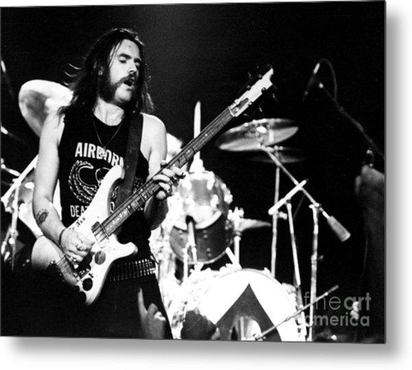Motorhead Lemmy 1979 Metal Print