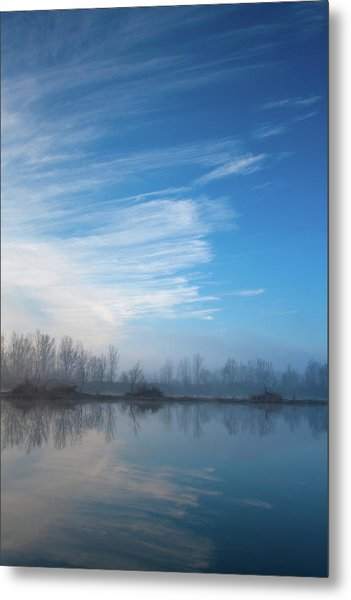 Metal Print featuring the photograph Mottled Sky by Davor Zerjav