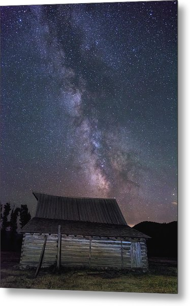 Moulton And The Milky Way Metal Print