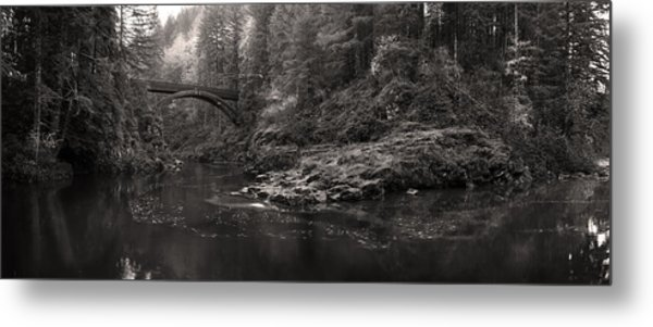 Moulton Bridge Metal Print