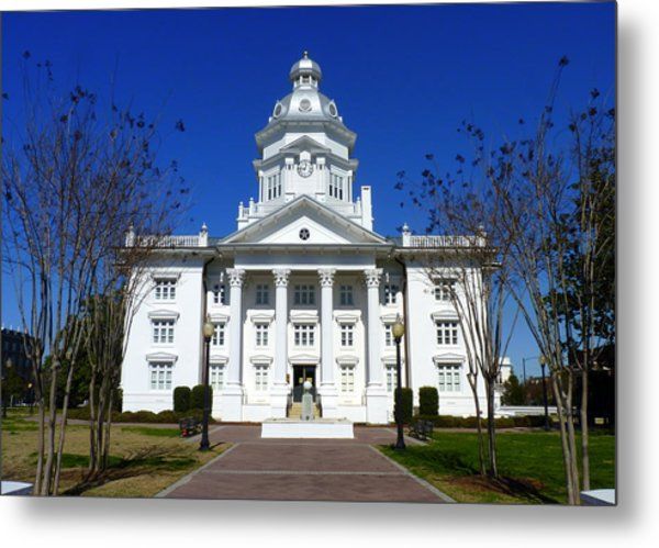 Moultrie Courthouse Metal Print