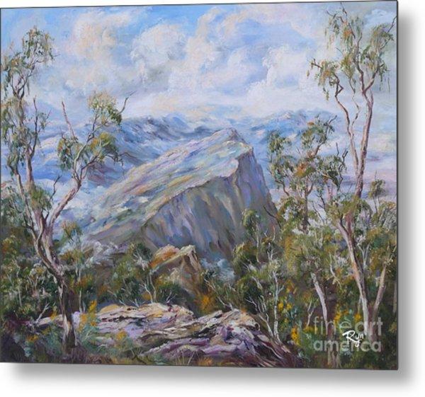 Mount Abrupt Grampians Victoria Metal Print