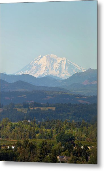 Mount Adams In Washington State Metal Print
