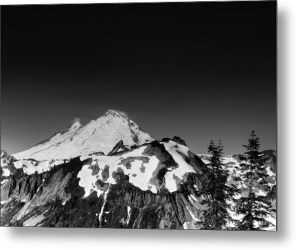 Mount Baker In Washington Metal Print