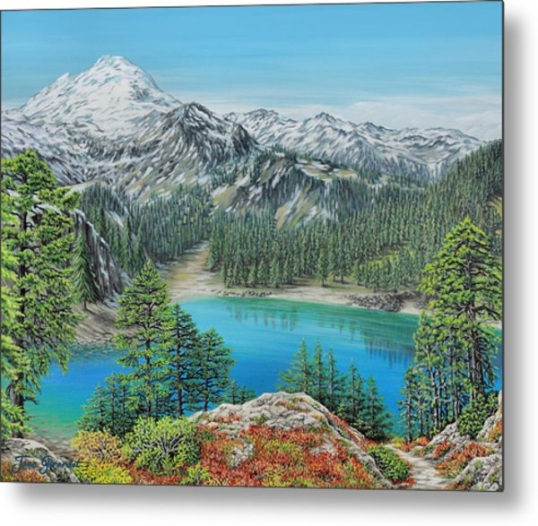 Mount Baker Wilderness Metal Print