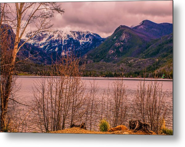 Mount Baldy From Point Park Metal Print