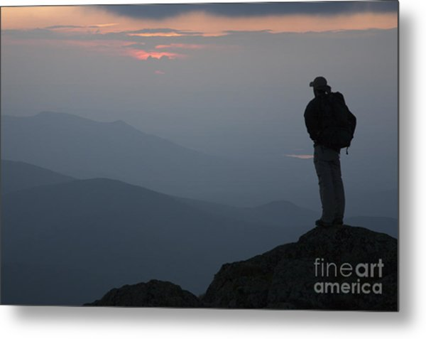 Mount Clay Sunset - White Mountains New Hampshire Usa Metal Print