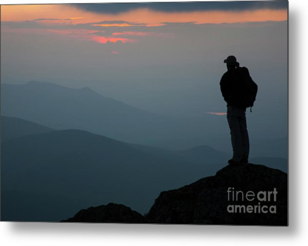 Mount Clay Sunset - White Mountains, New Hampshire Metal Print