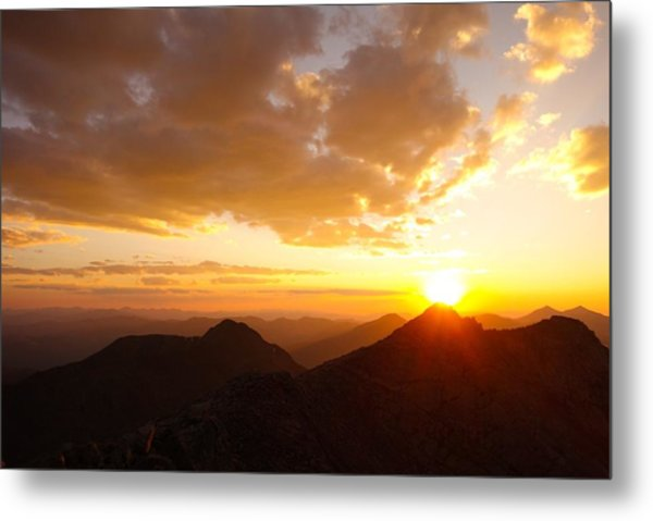 Mount Evans Sunset Metal Print