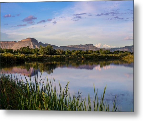 Metal Print featuring the photograph Mount Garfield In The Evening Light by Nadja Rider