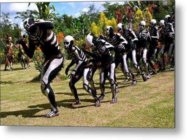 Mount Hagen Papua New Guinea Aog140 Metal Print