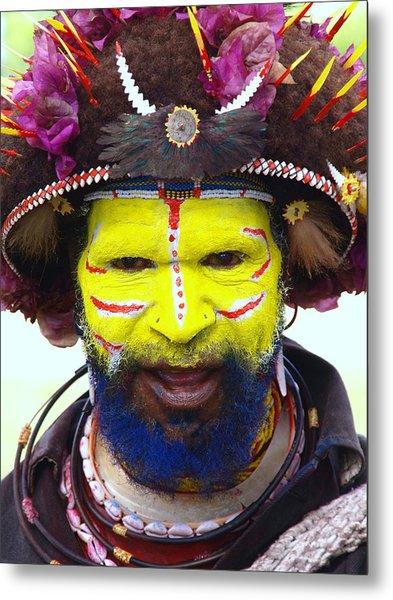 Mount Hagen Papua New Guinea Lv A41 Metal Print