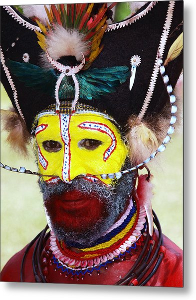 Mount Hagen Papua New Guinea Lv A79 Metal Print