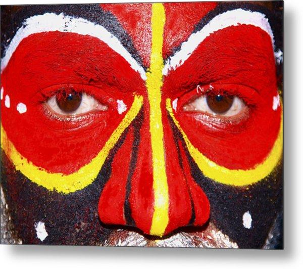 Mount Hagen Papua New Guinea Lv B 77 Metal Print