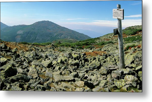 Mount Jefferson - White Mountains New Hampshire  Metal Print