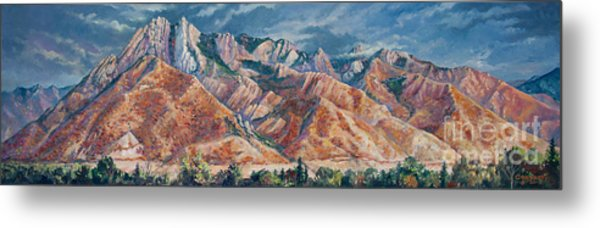 Mount Olympus In Autumn  Metal Print