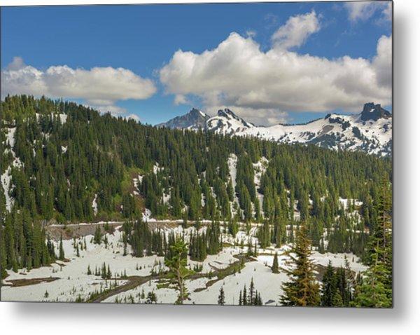 Mount Rainier National Park Tatoosh Range Metal Print