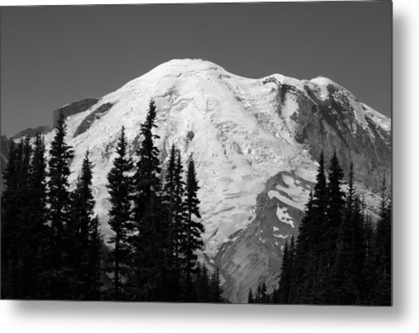 Mount Rainier Metal Print by Sonja Anderson