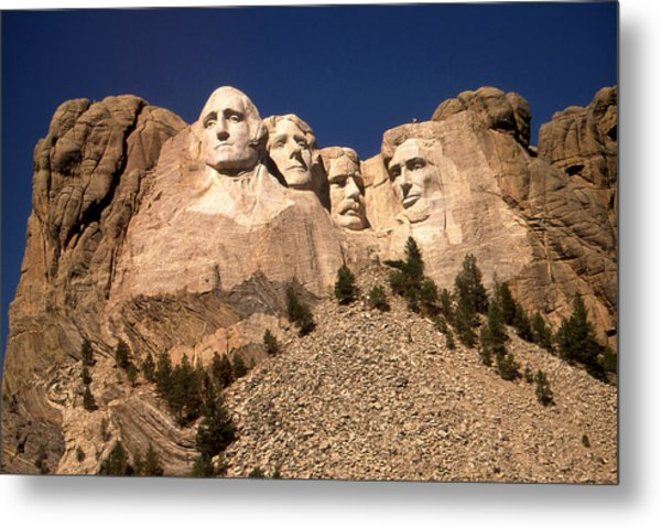 Mount Rushmore National Monument South Dakota Metal Print