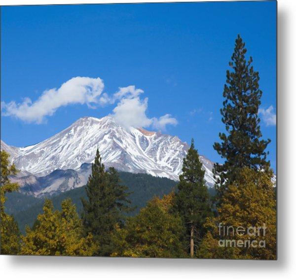 Mount Shasta California Metal Print
