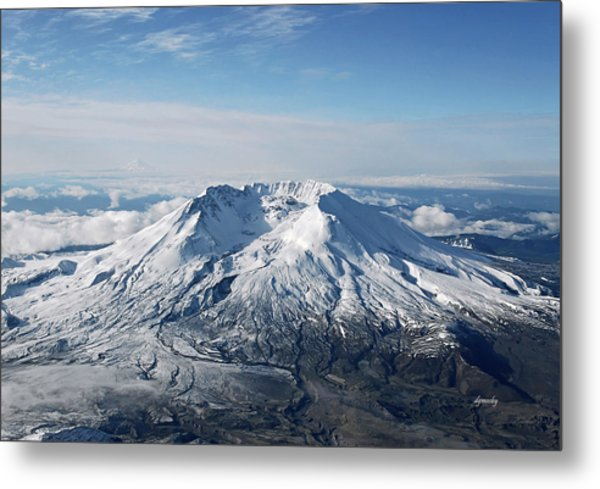 Mount St. Helens 0005 Metal Print by David Mosby