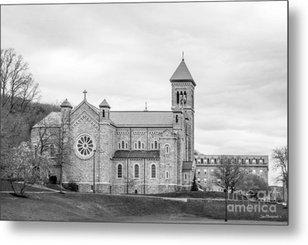 Mount St. Mary's University Chapel Metal Print
