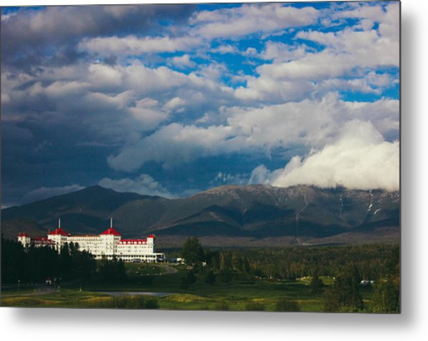 Metal Print featuring the photograph Mount Washington And The Presidential Mountain Range Of New Hampshire by Jessica Tabora