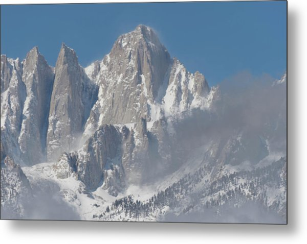 Mount Whitney In March Metal Print