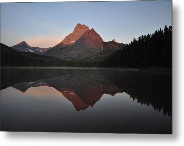 Mount Wilbur, Glacier National Park Metal Print