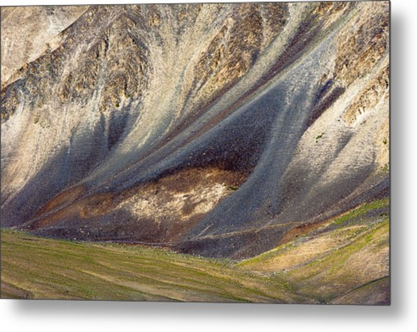 Mountain Abstract 2 Metal Print