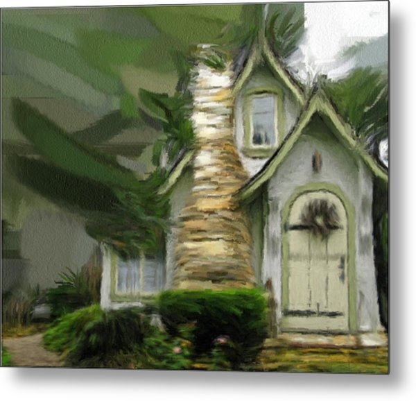 Mountain Cottage 6 Metal Print by Phil Ward
