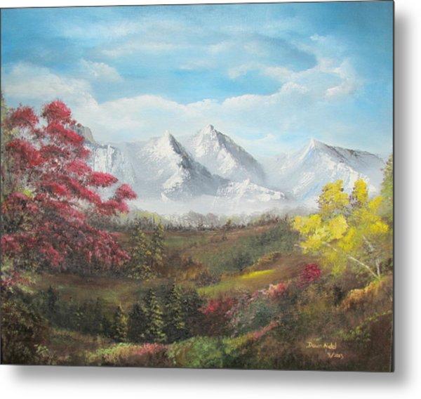 Mountain High Metal Print