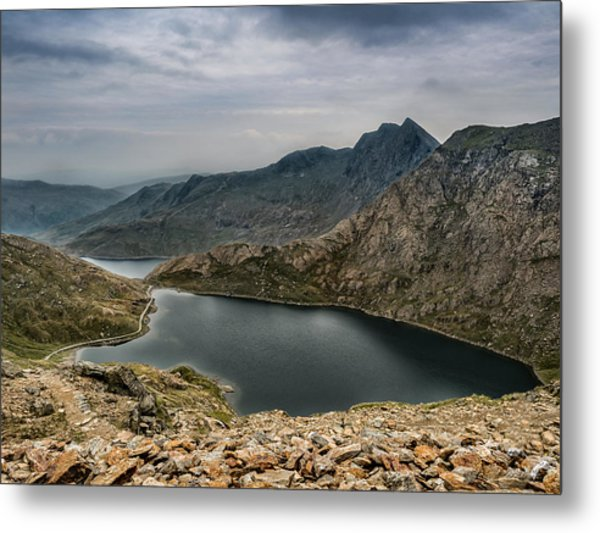 Mountain Hike Metal Print