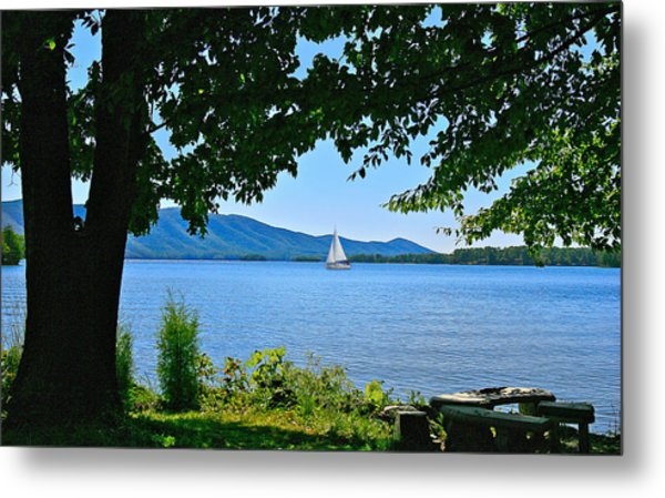 Smith Mountain Lake Sailor Metal Print
