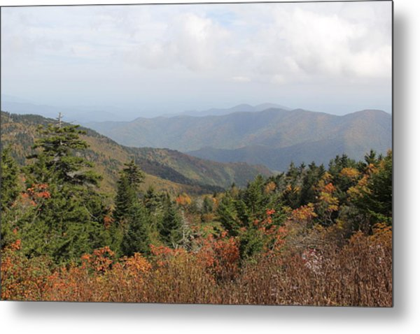 Mountain Long View Metal Print