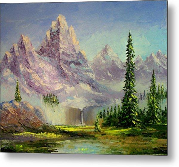 Mountain Majesty Metal Print by Lynda McDonald