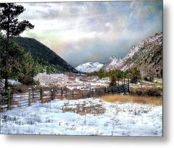 Mountain Meadow Metal Print