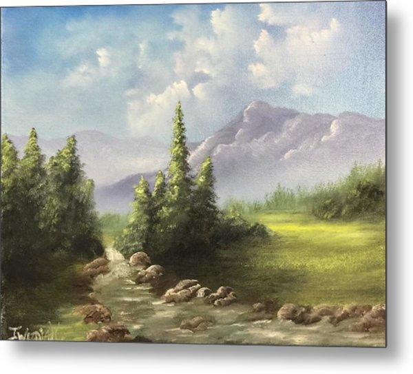 Mountain Meadow Metal Print