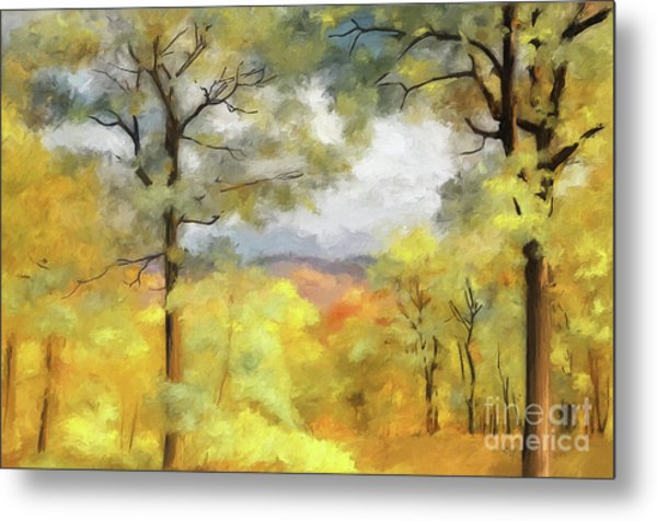 Mountain Morning Metal Print