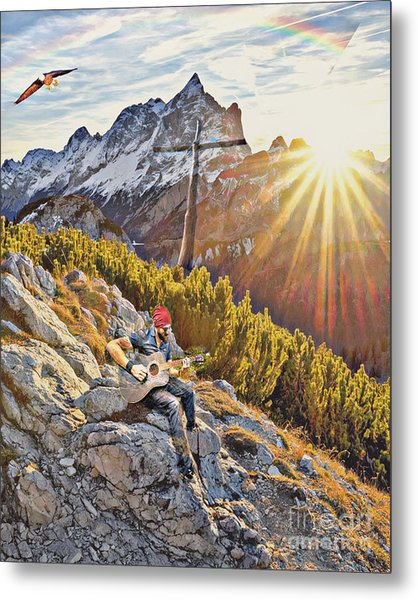 Mountain Of The Lord Metal Print