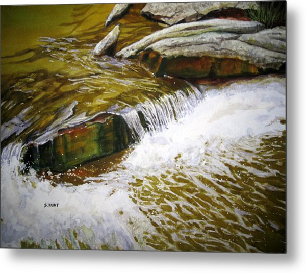 Mountain Refreshment Metal Print