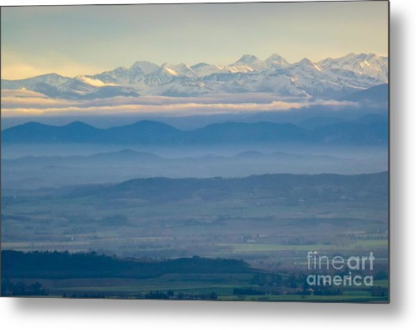 Mountain Scenery 11 Metal Print
