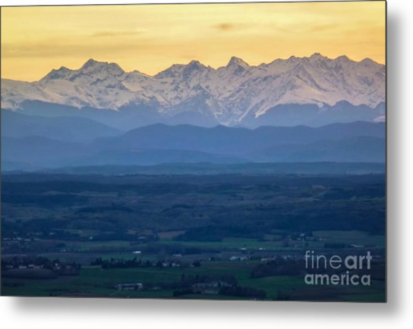 Mountain Scenery 15 Metal Print