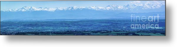Mountain Scenery 16 Metal Print
