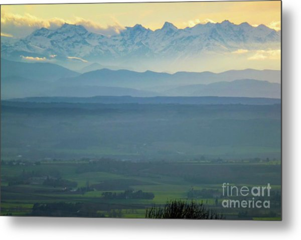 Mountain Scenery 18 Metal Print