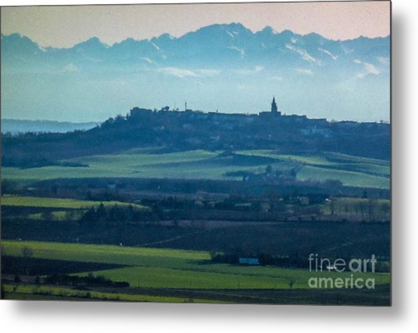 Mountain Scenery 4 Metal Print