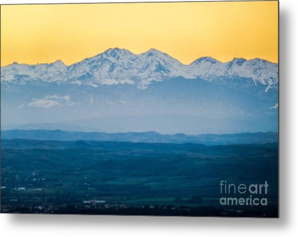 Mountain Scenery 7 Metal Print