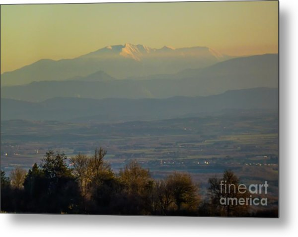 Mountain Scenery 8 Metal Print