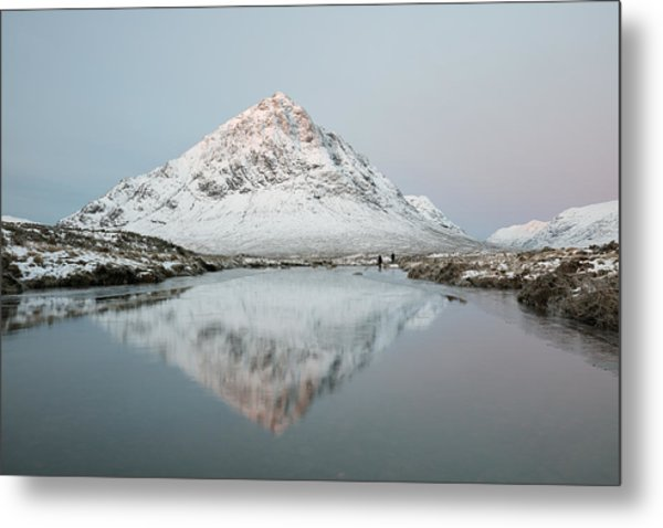 Mountain Sunrise Metal Print